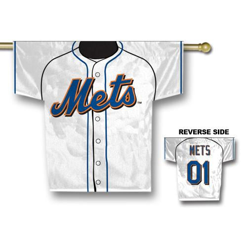 "New York Mets Jersey Banner 34"" x 30"" - 2-Sided from Fremont Die, Inc."