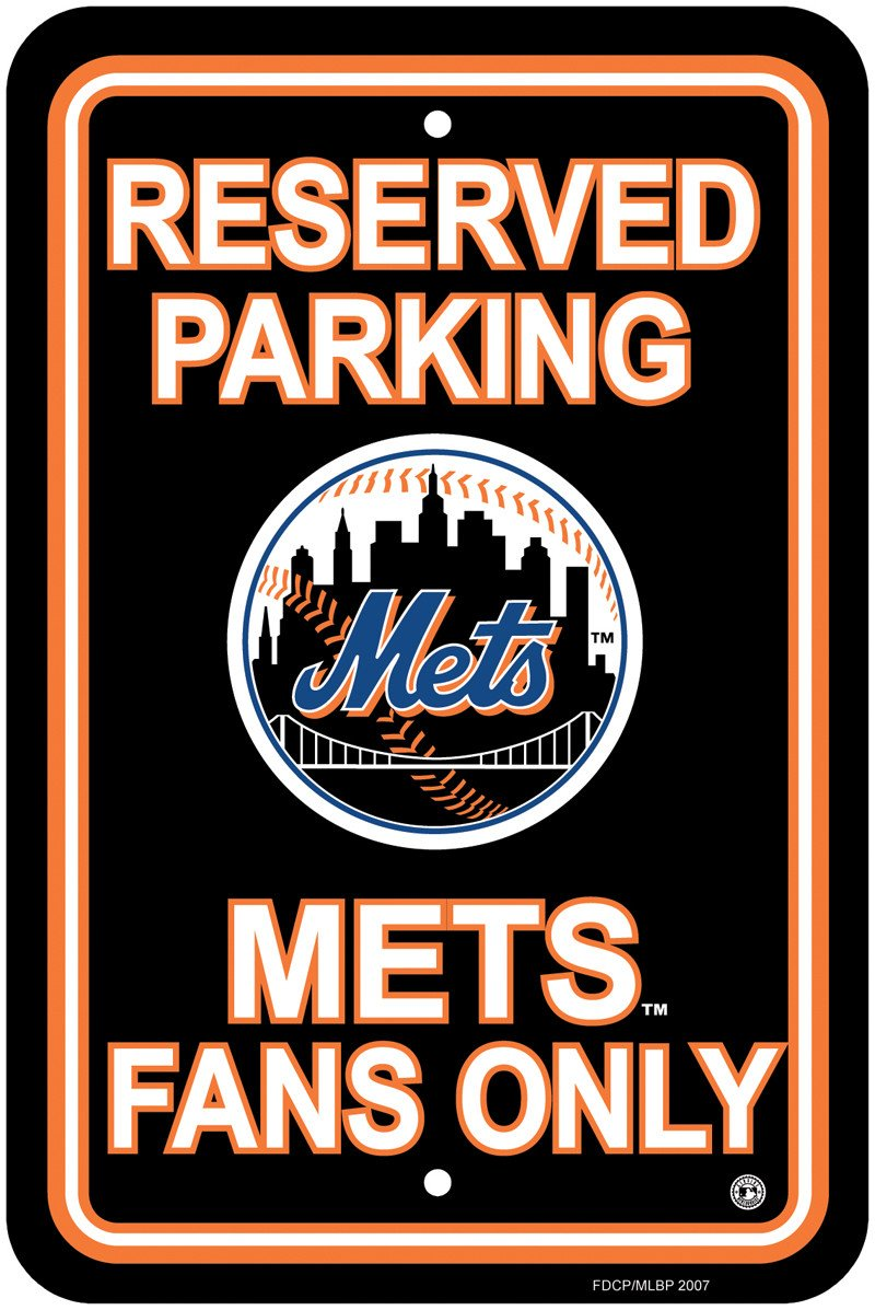 New York Mets Plastic Parking Sign from Fremont Die, Inc.