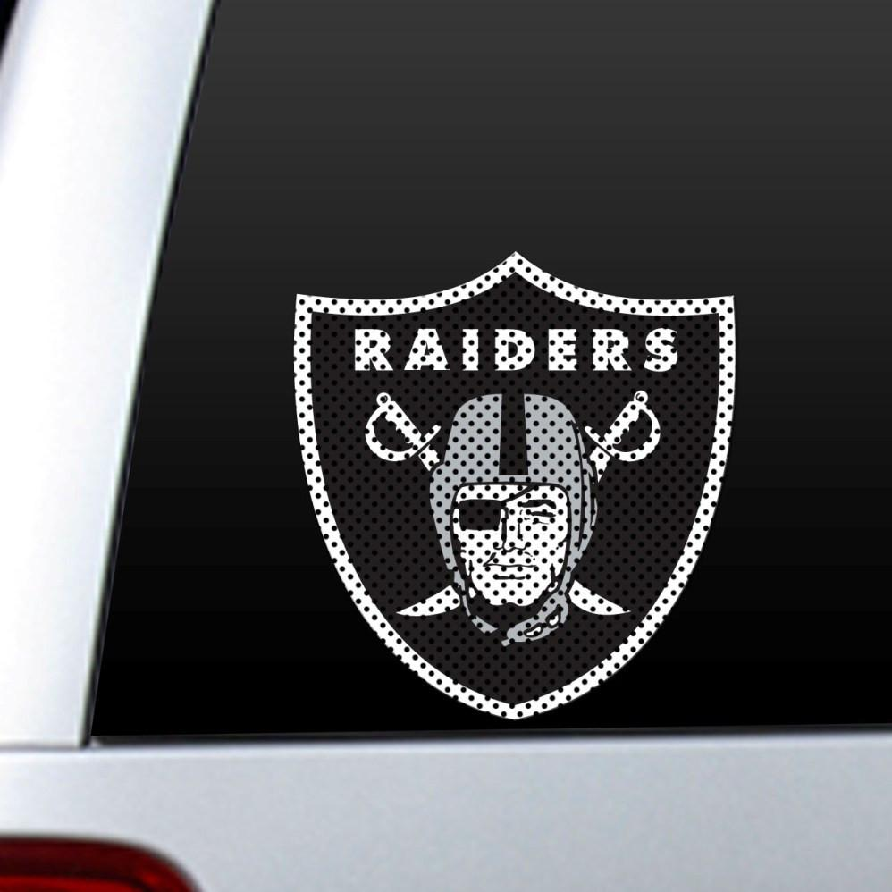 Oakland Raiders Diecut Window Film from Fremont Die, Inc.