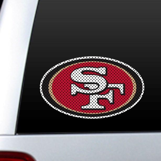San Francisco 49Ers Diecut Window Film from Fremont Die, Inc.