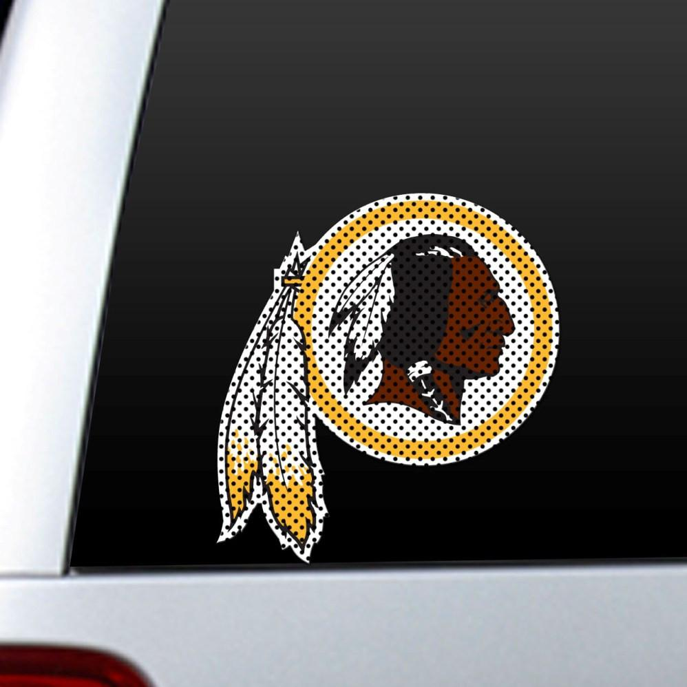 Washington Redskins Diecut Window Film from Fremont Die, Inc.