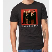 Friends Character Pose Men's T-Shirt - Black - S - Black from Friends