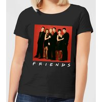 Friends Character Pose Women's T-Shirt - Black - 5XL - Black from Friends