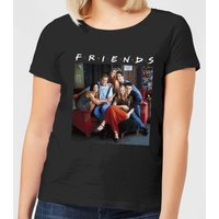 Friends Classic Character Women's T-Shirt - Black - S - Black from Friends