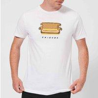 Friends Couch Men's T-Shirt - White - L - White from Friends