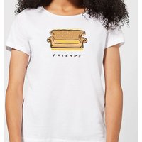 Friends Couch Women's T-Shirt - White - M - White from Friends
