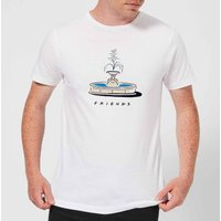 Friends Fountain Men's T-Shirt - White - XL - White from Friends