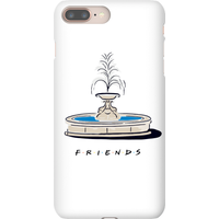 Friends Fountain Phone Case for iPhone and Android - iPhone X - Snap Case - Gloss from Friends
