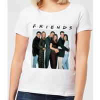 Friends Group Shot Women's T-Shirt - White - XL - White from Friends
