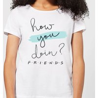 Friends How You Doin? Women's T-Shirt - White - S - White from Friends