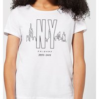 Friends NY Skyline Women's T-Shirt - White - XL - White from Friends