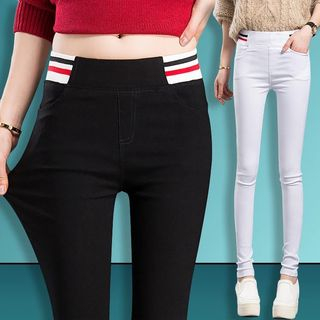 High Waist Skinny Pants from Frigga