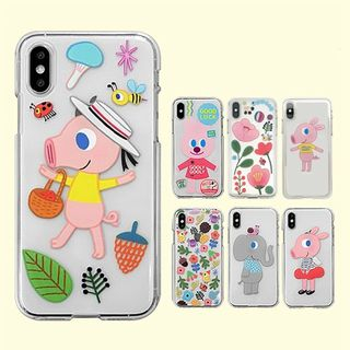 goolygooly-Cartoon Mobile Case - iPhone XS Max / XS / XR / X / 8 / 8 Plus / 7 / 7 Plus / 6s / 6s Plus from Full House