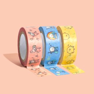 motemote-Cartoon Print Masking Tape from Full House