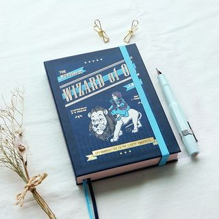 7321-Printed Hardcover Small Notebook from Full House