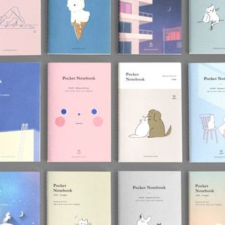 ICONIC-Printed Small Notebook (various designs) from Full House