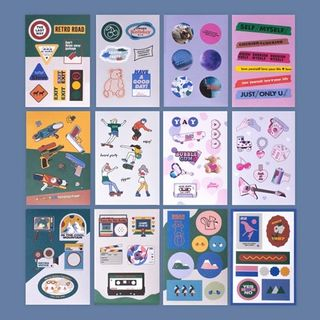 lucalab-Sticker (various designs) from Full House