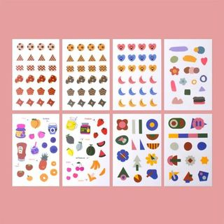 lucalab -Translucent Sticker (various designs) from Full House