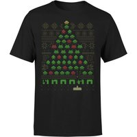 Invaders From Space T-Shirt - Black - XL - Black from Geek Christmas