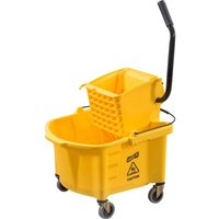 Genuine Joe Splash Guard Mop Bucket/Wringer from Genuine Joe