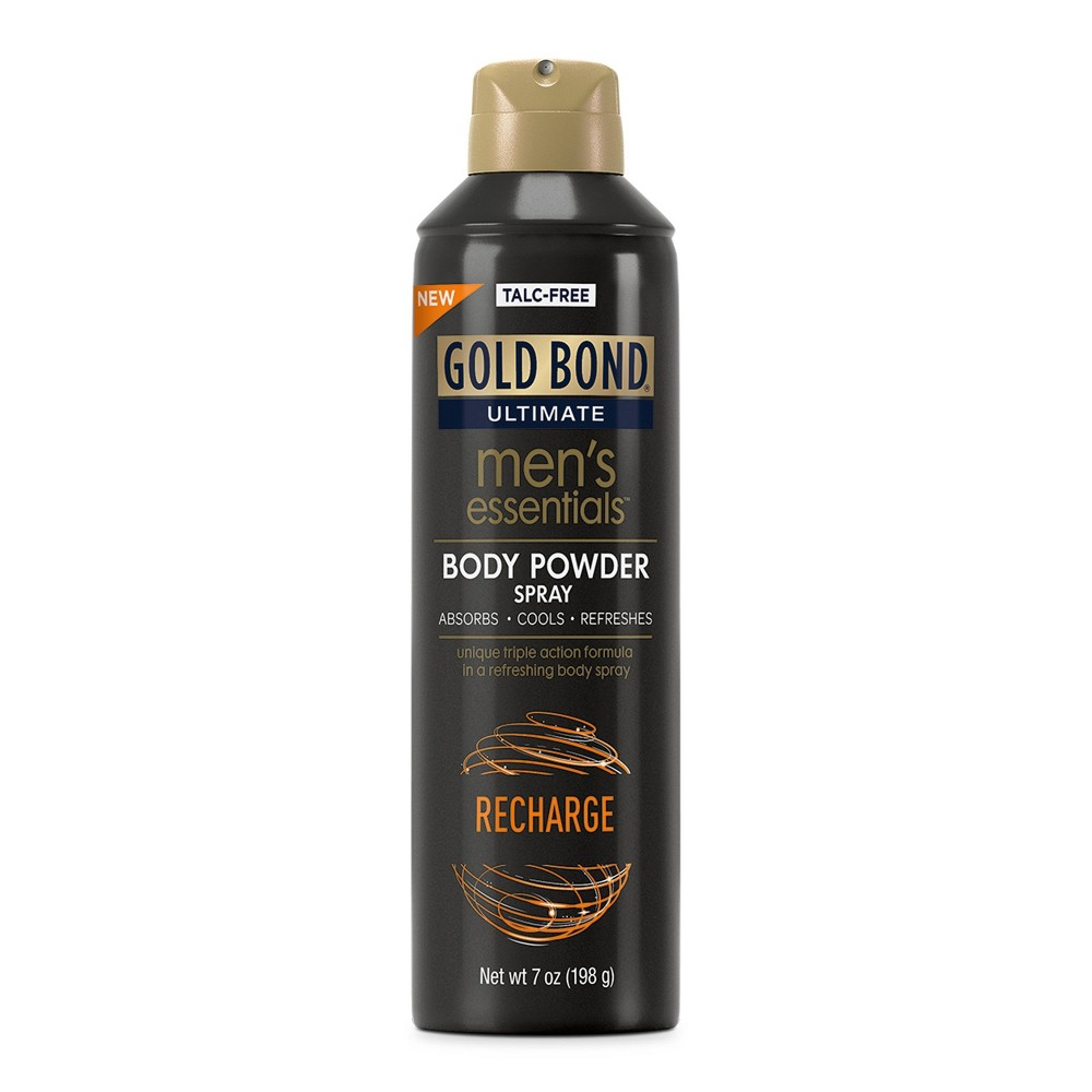 Gold Bond Recharge Men's Body Powder Spray - 7oz from Gold Bond