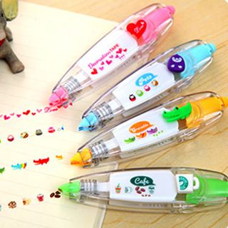 Cute Novelty Sticker Machines Decoration Tape from Good Living