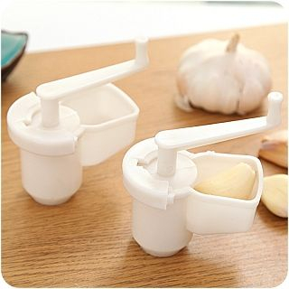 Garlic Press White - One Size from Good Living