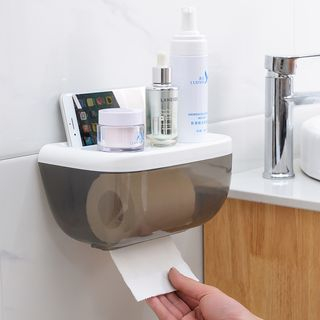 Plastic Toilet Roll Wall Organizer from Good Living