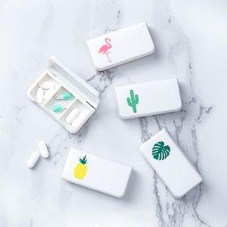 Printed Travel Pill Box from Good Living