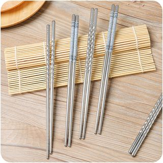 Stainless Steel Chopsticks from Good Living