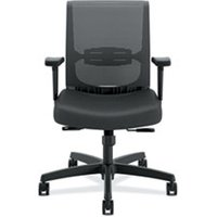 Convergence Chair, Black Fabric/Black Plastic from HON