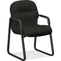 Pillow-Soft 2090 Series Guest Arm Chair, Black from HON