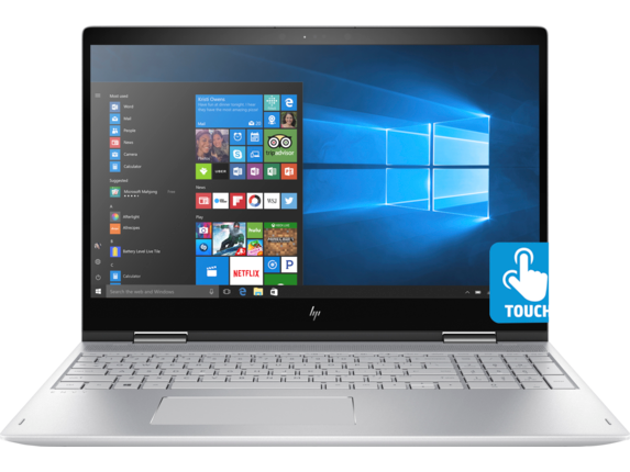 "HP ENVY x360 Convertible Laptop - 15t|1.8 GHz Intel Quad Core CPU|512 GB SSD|16 GB DDR4|15.6"" 4K UHD Display