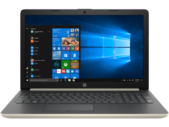 "HP Laptop - 15z touch|Pale Gold|3.6 GHz AMD Quad Core CPU|256 GB SSD|16 GB DDR4|15.6"" FHD Display