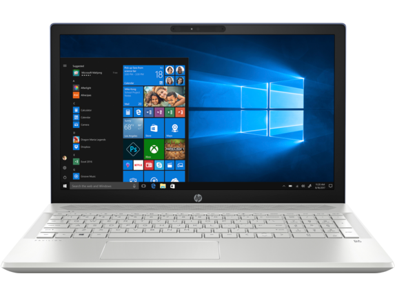 "HP Pavilion Laptop - 15t touch|Silver|1.6 GHz Intel Quad Core CPU|1 TB SSHD|4 GB DDR4|15.6"" FHD IPS Display