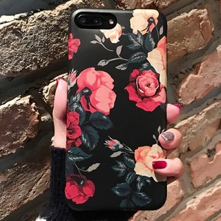 Floral Print Phone Case - Apple iPhone 6 / 6 Plus / 7 / 7 Plus from Hachi