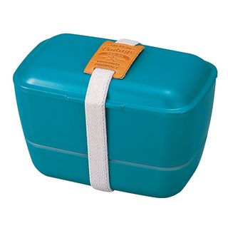 Hakoya American Vintage Dome 2 Layer Lunch Box (Green) from Hakoya