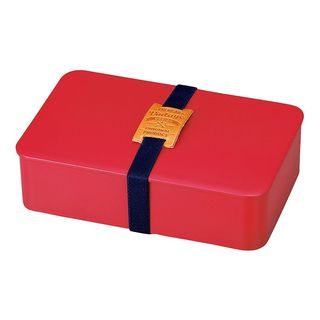 Hakoya American Vintage Mens Simple Lunch Box (Red) from Hakoya