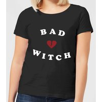 Bad Witch Women's T-Shirt - Black - S - Black from Halloween
