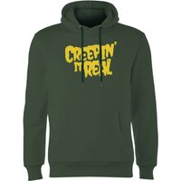 Creepin It Real Hoodie - Forest Green - M - Forest Green from Halloween