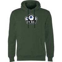 Eye Roll Hoodie - Forest Green - M - Forest Green from Halloween