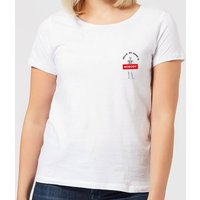 Halloween Hello, My Name Is Nobody Women's T-Shirt - White - XL - White from Halloween