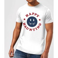 Happy Haunting Fang Men's T-Shirt - White - S - White from Halloween