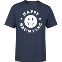 Happy Haunting T-Shirt - Navy - XL - Navy from Halloween