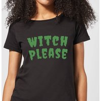 Witch Please Women's T-Shirt - Black - L - Black from Halloween