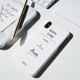 Buen Viaje Lettering Mobile Case - iPhone / OPPO / Xiaomi / Huawei from Handy Pie