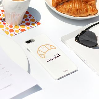 Croissant Print Mobile Case - iPhone / OPPO / Xiaomi / Huawei from Handy Pie