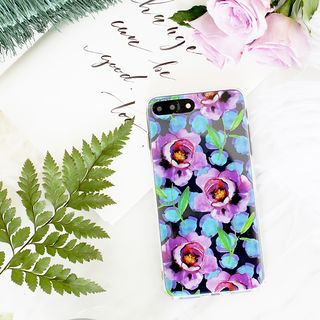 Floral Print Mobile Case - iPhone X / 8 / 8 Plus / 7 / 7 Plus / 6s / 6s Plus from Handy Pie