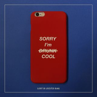 Lettering Mobile Case - iPhone / Huawei from Handy Pie