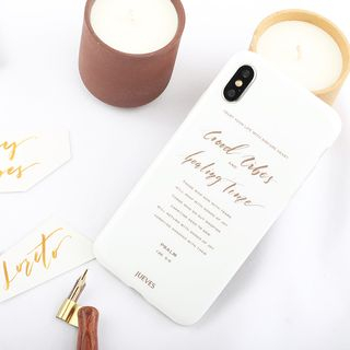 Lettering Mobile Case - iPhone / OPPO from Handy Pie